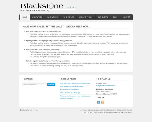 Blackstone Associates