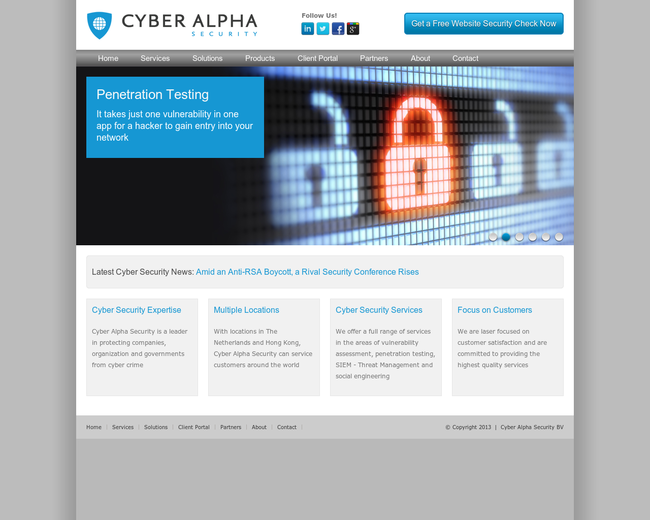 Cyber Alpha Security B.V.
