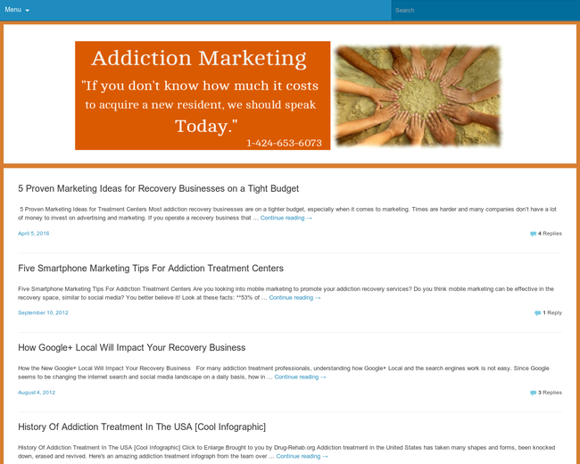 Addiction Marketing