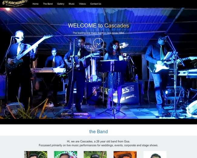Cascades Band Goa