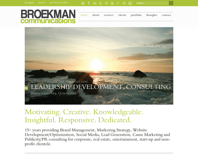 BROEKMAN communications
