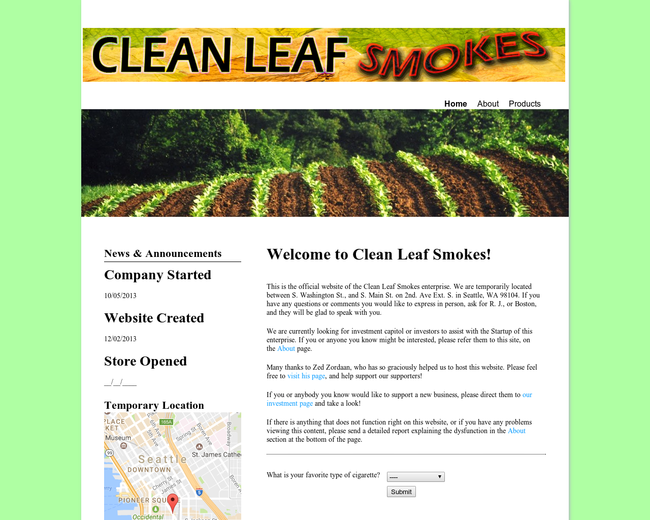 Clean Leaf Smokes
