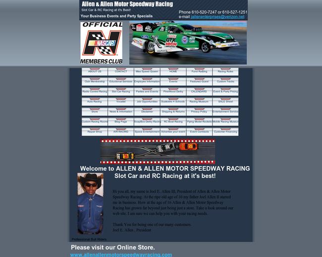 Allen & Allen Motor Speedway Racing