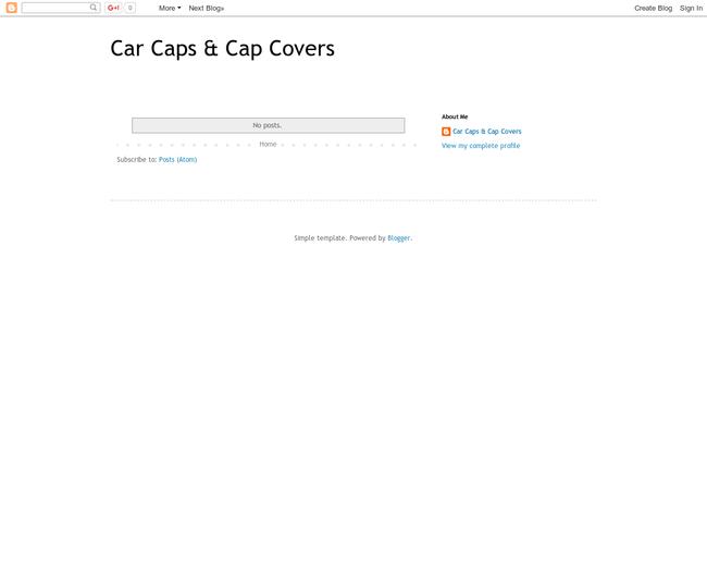 Car Caps & Cap Covers