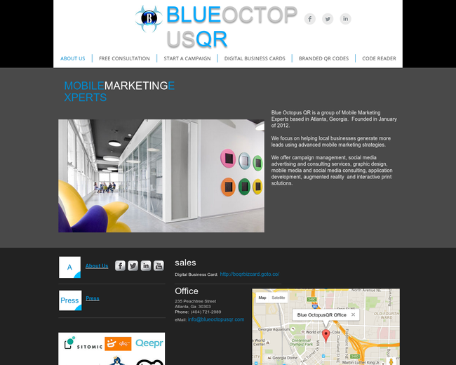 BlueOctopusQR
