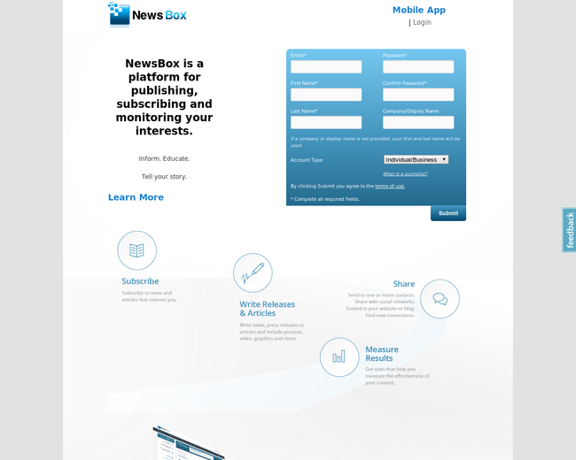 Connectus - NewBox.com