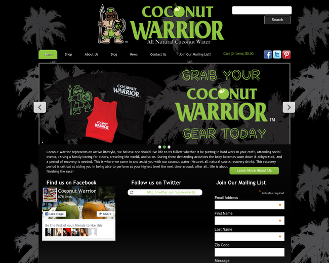Coconut Warrior