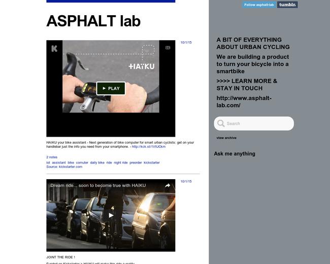 ASPHALT Lab
