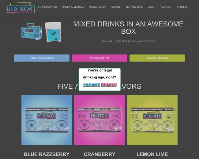 BeatBox Beverages
