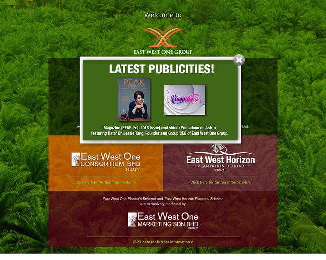East West One Consortium Berhad