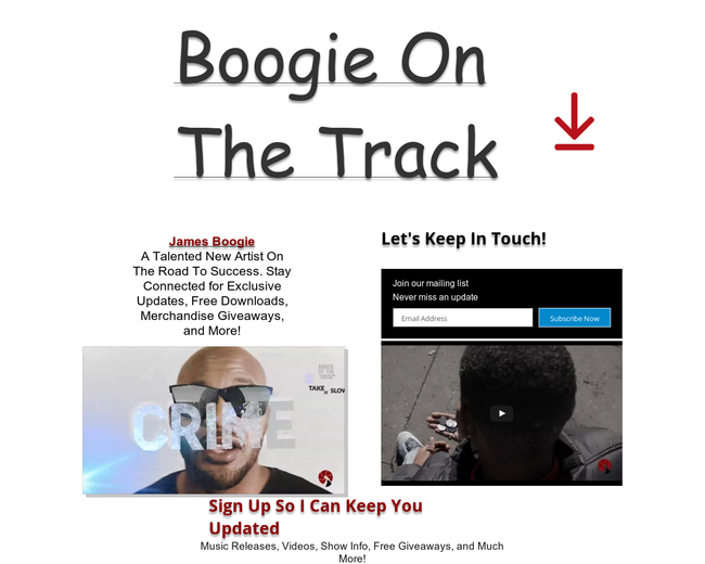 Boogie On The Track