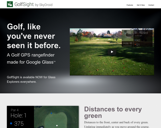 Search results for category top 25 on iterate studio golfsight for google glass fandeluxe Choice Image