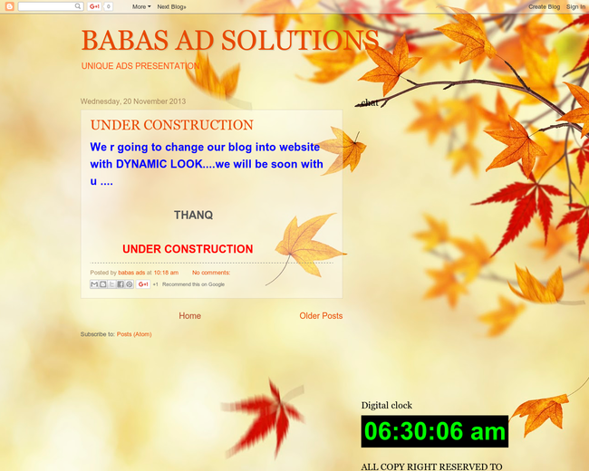 BABAS AD SOLUTIONS