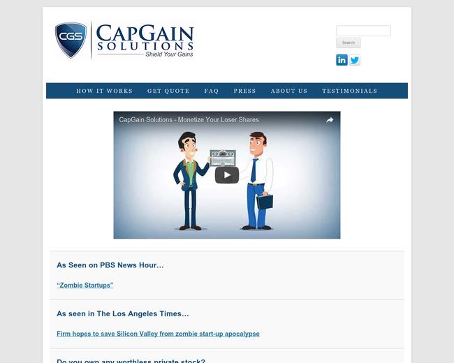CapGain Solutions