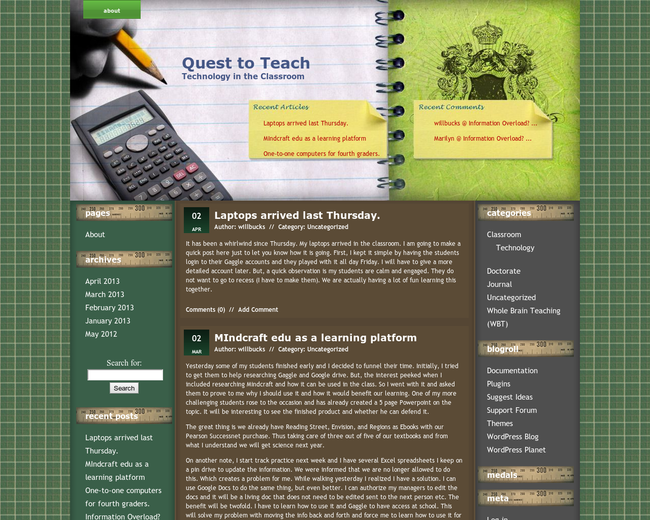 Quest to Teach