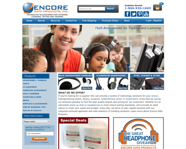 Encore Data Products