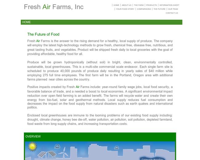 Fresh Air Farms