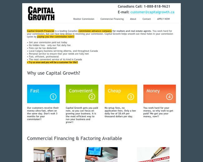 Capital Growth Financial