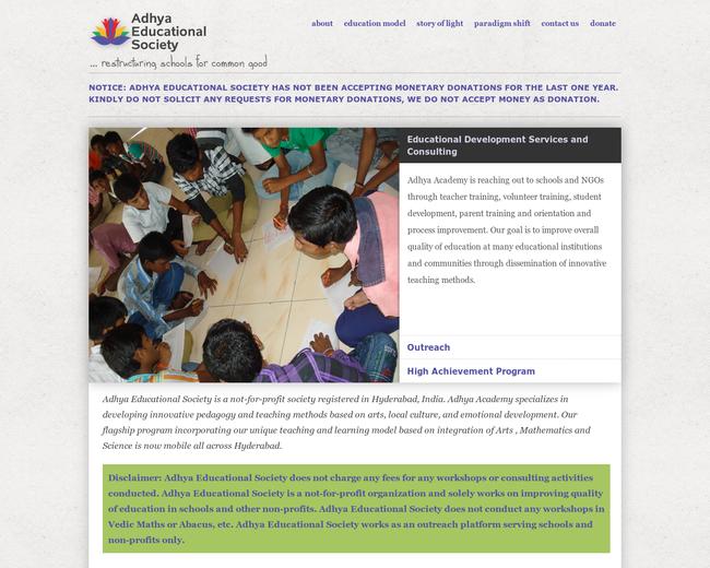 Adhya Educational Society