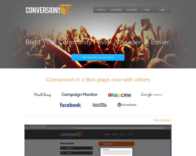 Conversion In A Box