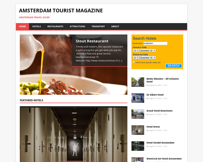 Amsterdam Tourist Magazine