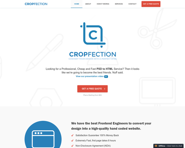Cropfection