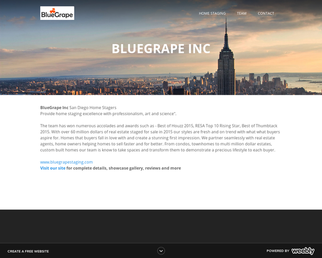 BlueGrape Consulting LLC - ReGO