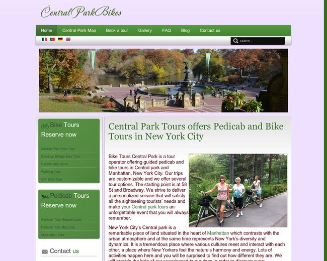 Central Park Bike Tours