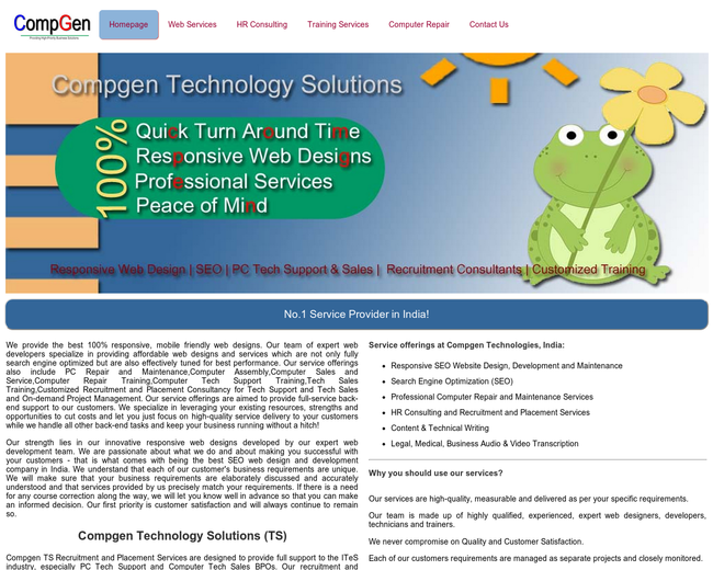 Computer Generation Technology