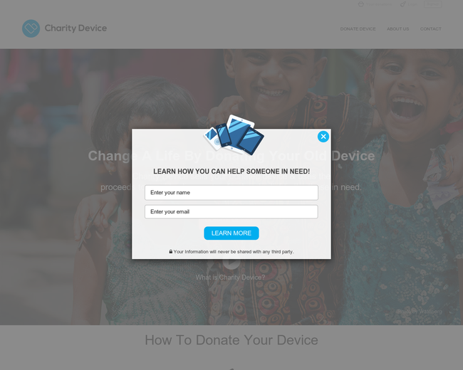 Charity Device