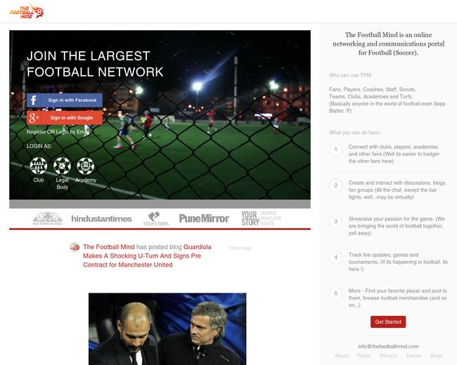 TheFootballMind.com - Protege Sports