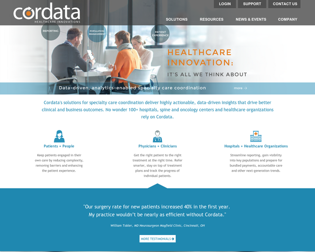 Cordata Healthcare Innovations