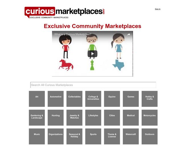Community Marketplaces