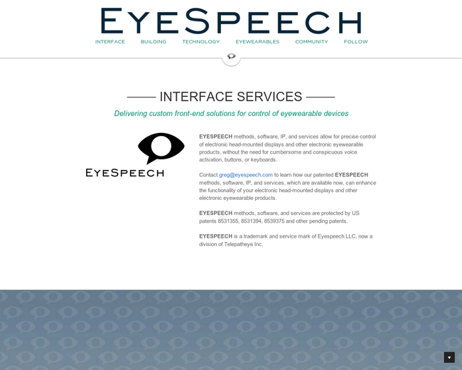 EyeSpeech