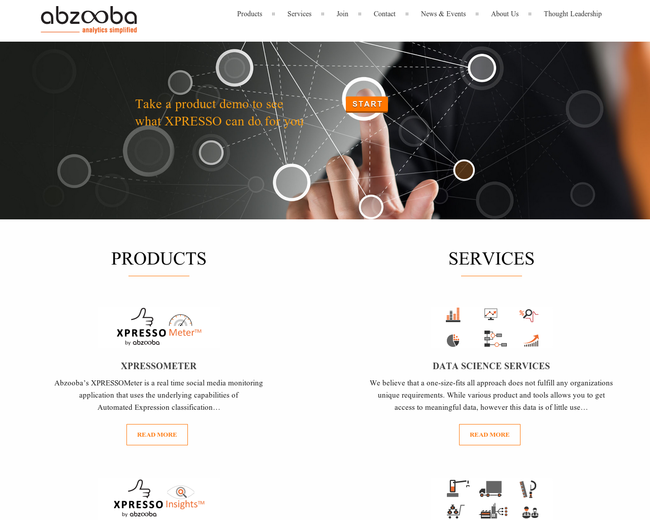Abzooba -  Connect, Inform, Empower