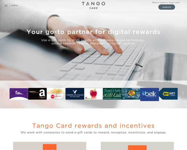 Tango Card on Iterate Studio