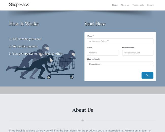Shop Hack