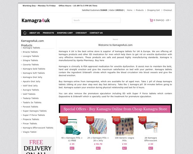 Buy cheap Kamagra 4 UK