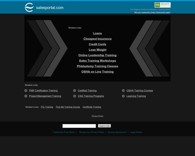 Sales Portal