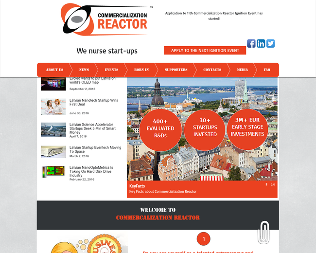 Commercialization Reactor
