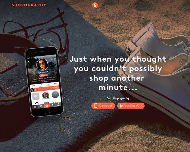 Shopography