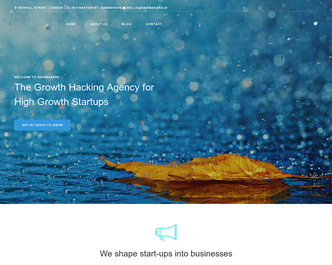 Rainmakers | Growth Hacking Agency