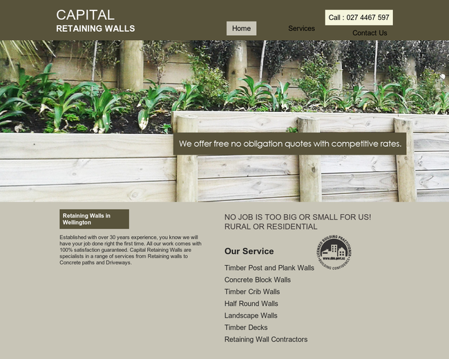 Capital Retaining Walls