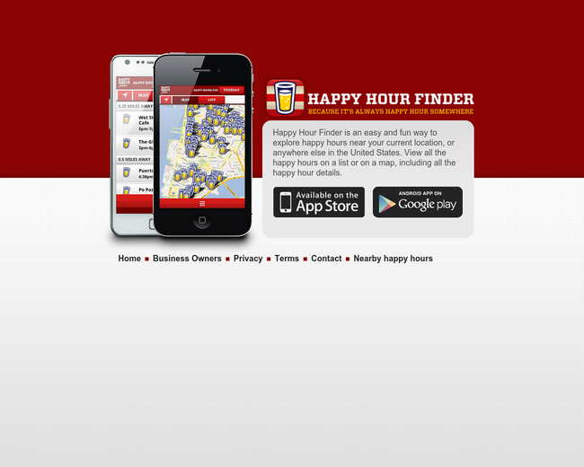 Happy Hour Finder
