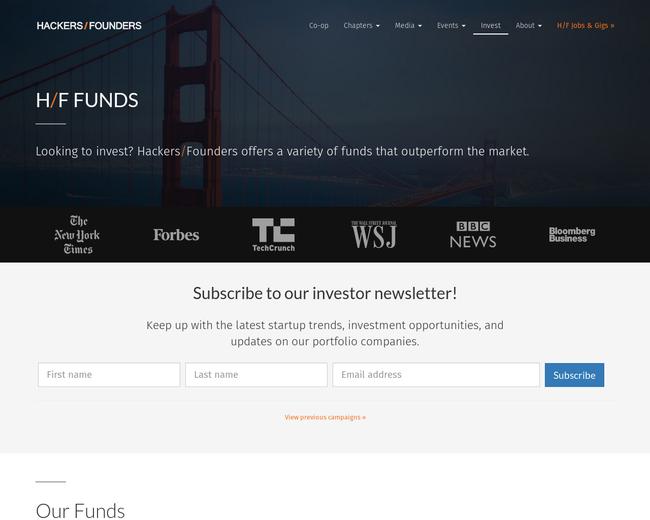 H/F Next Fund