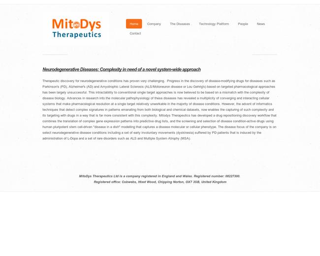 MitoDys Therapeutics