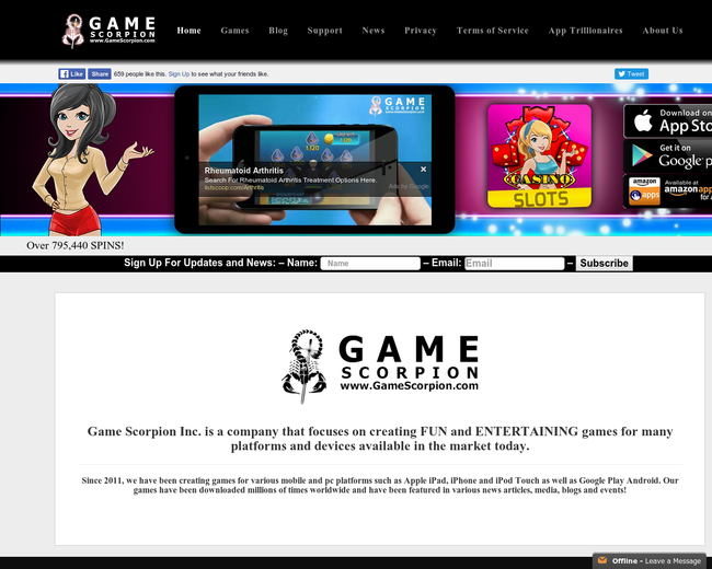 Game Scorpion