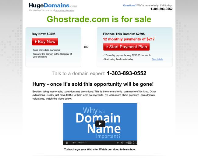 Ghostrade