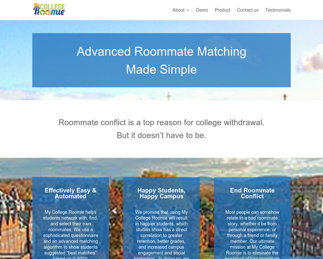 college roommate search