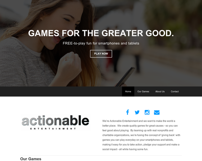 Actionable Entertainment